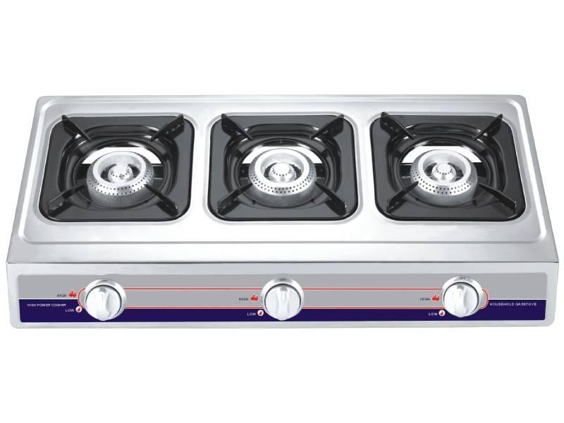 Three Burner Stainless Steel Gas Cooker YD-GC303