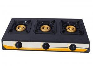 YD-GC303T Three Burner Gas Cooker