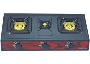 YD-GC313T 3 Burner Non-Stick Gas Cooker