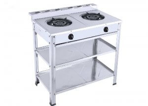 YD-GT603 SS Two Burner Table Stand Gas Stove
