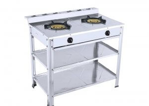 YD-GT604 SS Two Burner Table Stand Gas Stove
